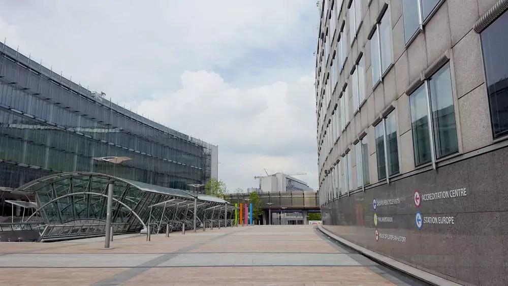 Brüssel mit Kind - Parlamentarium
