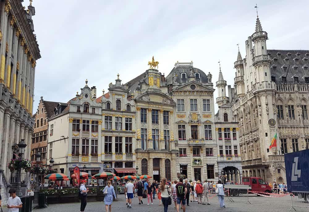 Brüssel mit Kind - Grand Place