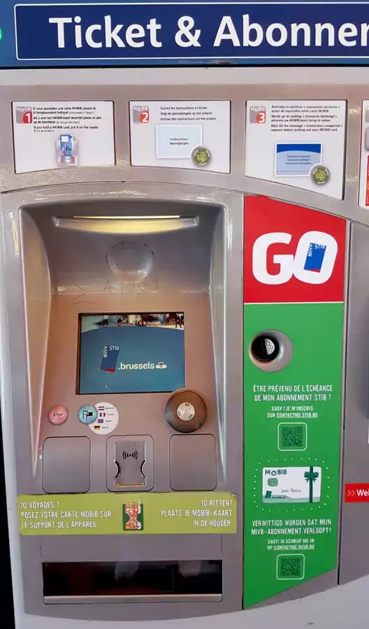 Tipps und Informationen für Brüssel - Metro