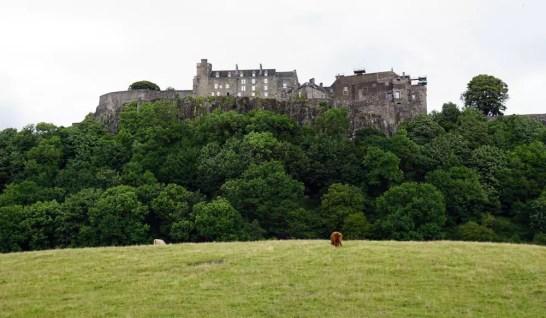 Schottland Sehenswürdigkeit - Stirling Castle