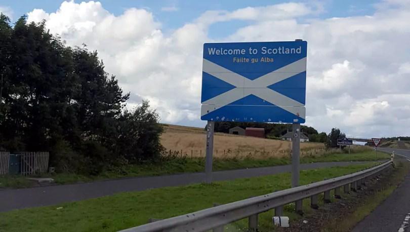 Endlich in Schottland