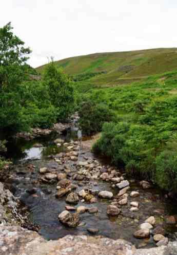 Roadtrip durch Schottland - Goldrausch in den Highlands, Kildonan Burn