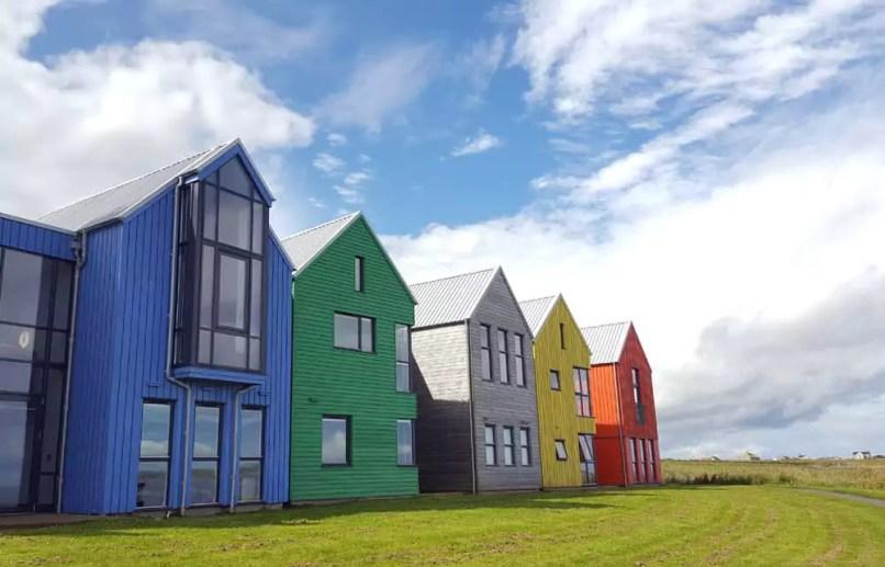 Bunte Häuser John o'Groats