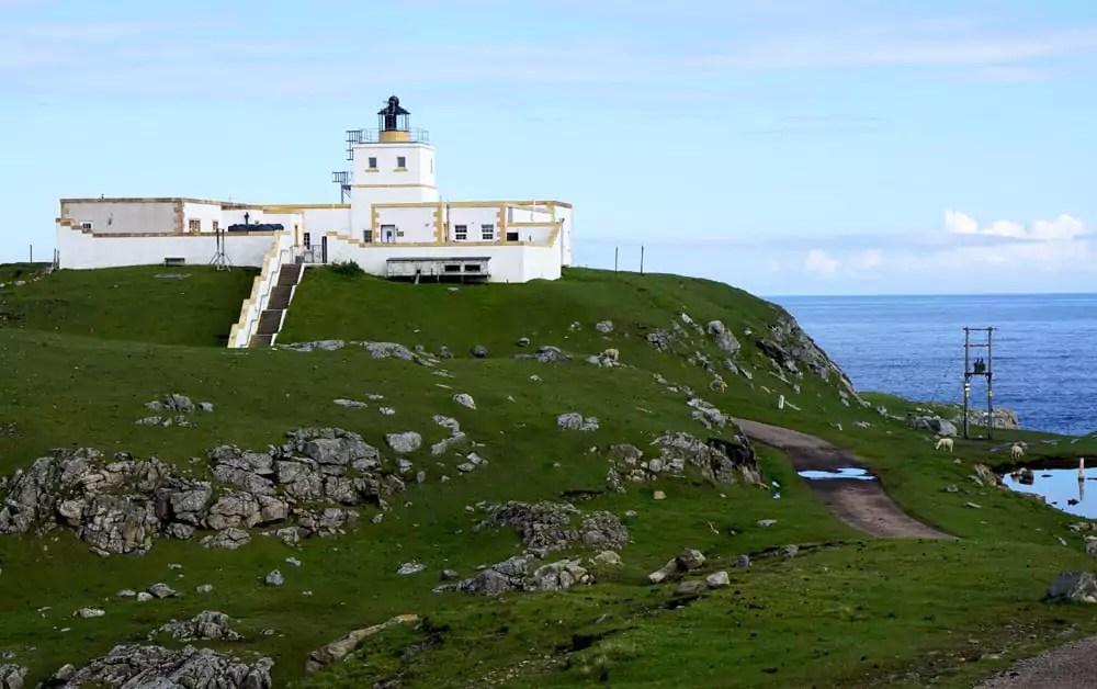 Strathy Head Leuchtturm Schottland Highlands