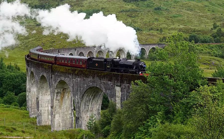 Tipps zum 'Hogwarts Express' am Glenfinnan Viadukt