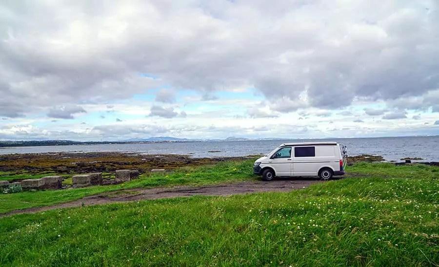 Freistehen mit VWBus in Schottland Infos und Plätze
