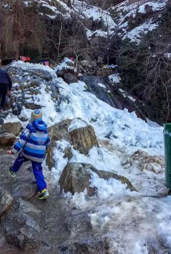 Tagesausflug zu den Wasserfällen von Sets Fatma mit Kind - Erfahrungsbericht