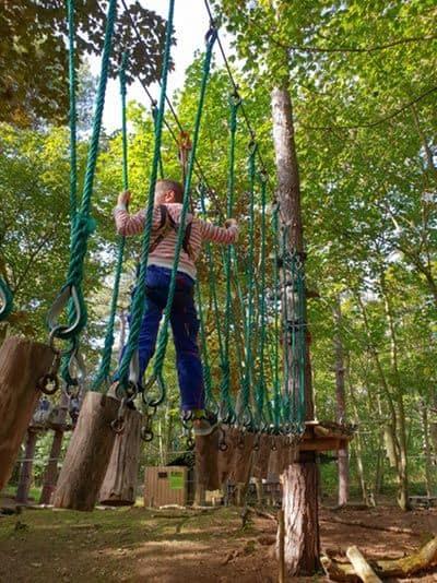 Aktivitäten mit Kindern in Zeeland und weitere Tipps für eure Reise - Klettergarten