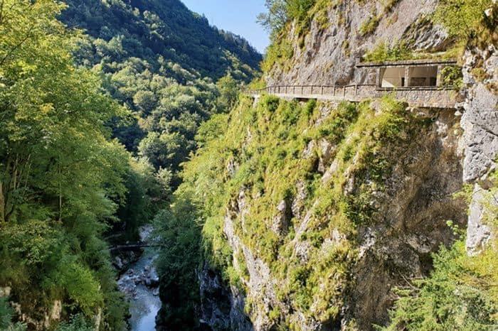 Teufelsbrücke Tolminer Klammen
