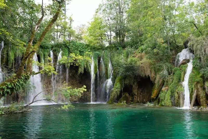 Wasserfall im Nationalpark Plitvicer Seen