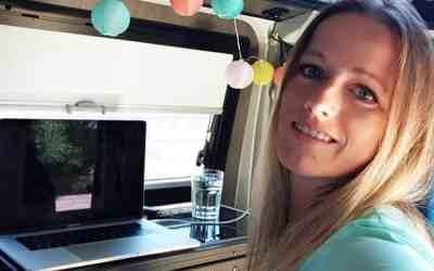 Unterwegs online arbeiten im Campervan
