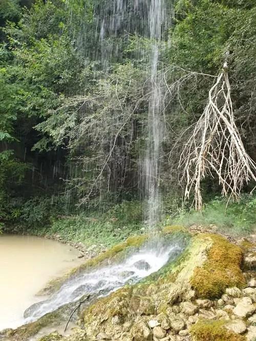 Istrien entdecken mit Camper Wasserfall