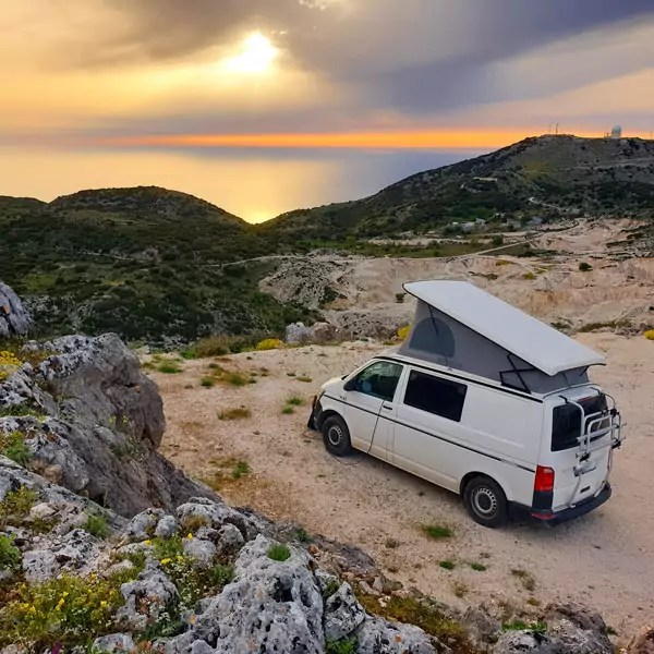 Camping in Griechenland