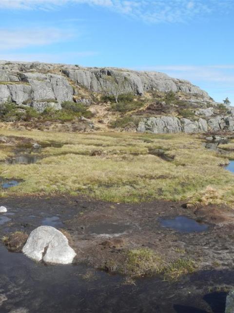 Norwegen Wandergebiet Predigtstuhl