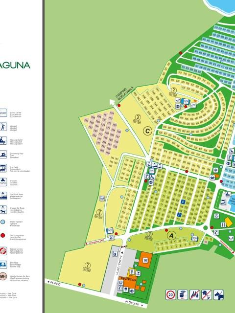 Übersichtskarte Camp Zelena