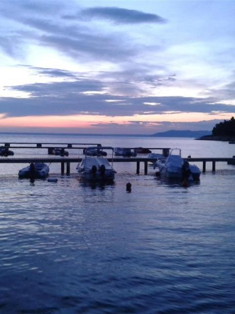 Sonnenuntergang vor Cres