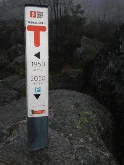 Wandermarkierung Norwegen