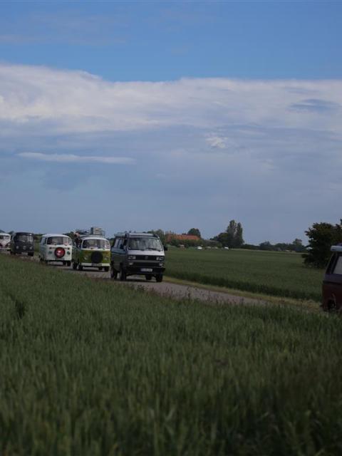 Midsummer-Bulli-Festival-Fehmarn Ausfahrt