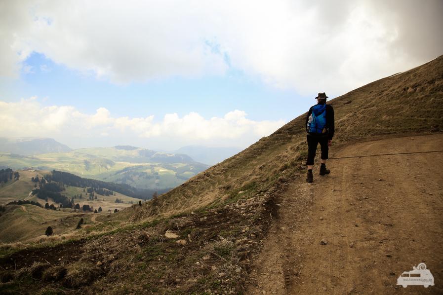 Wanderung zur Plattkofelhütte