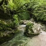 Wanderung durch Slap Kozjak