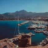Aussicht auf den Hafen von Calvi