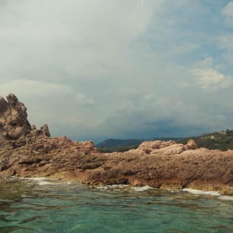 Kajaktour auf dem Golf de Pinarellu (2)