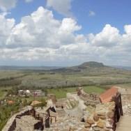 Die Burg Szigligetmit ihrem einmaligen Blick über den Balaton und die Region