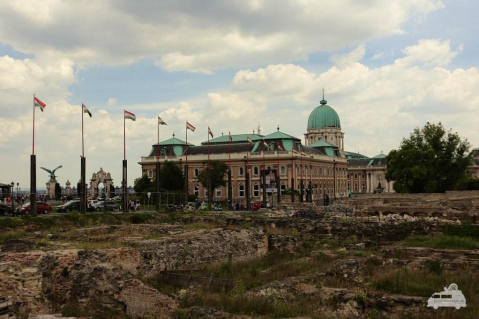 Der Burgpalast von Budapest