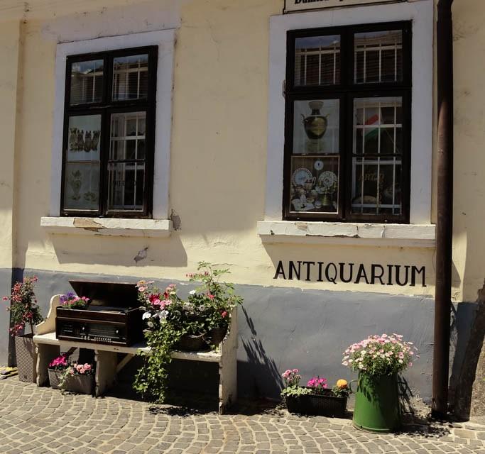Szentendre ein nettes kleines Städtchen am Donauufer