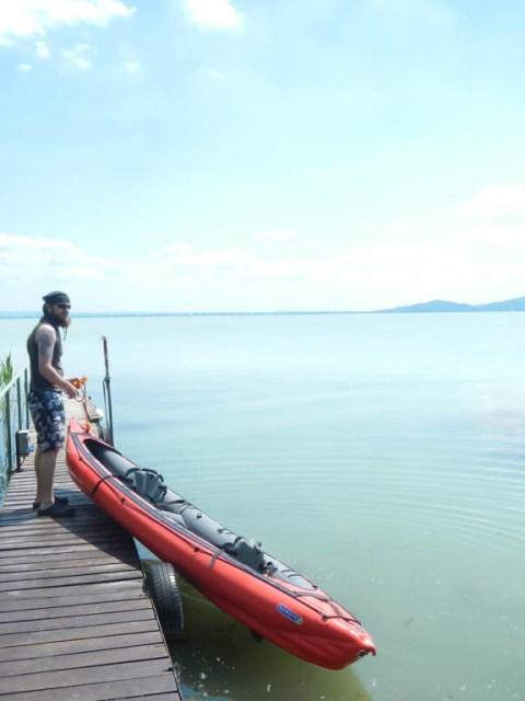 paddeln auf dem Balaton (2)