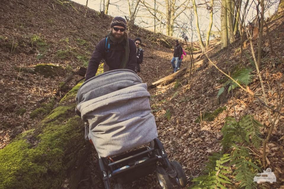Kinderwagen Wanderung