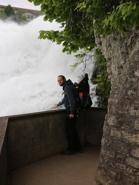 Aussichtsplattformam Rheinfall
