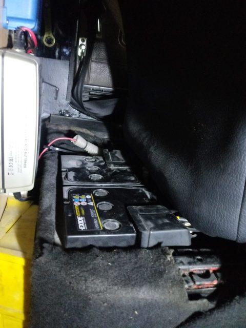 Zusatzbatterie im T3 Gel