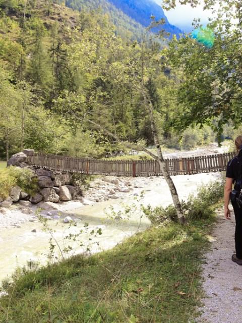 Wandern und Baden im Naturdenkmal Vorderkaserklamm