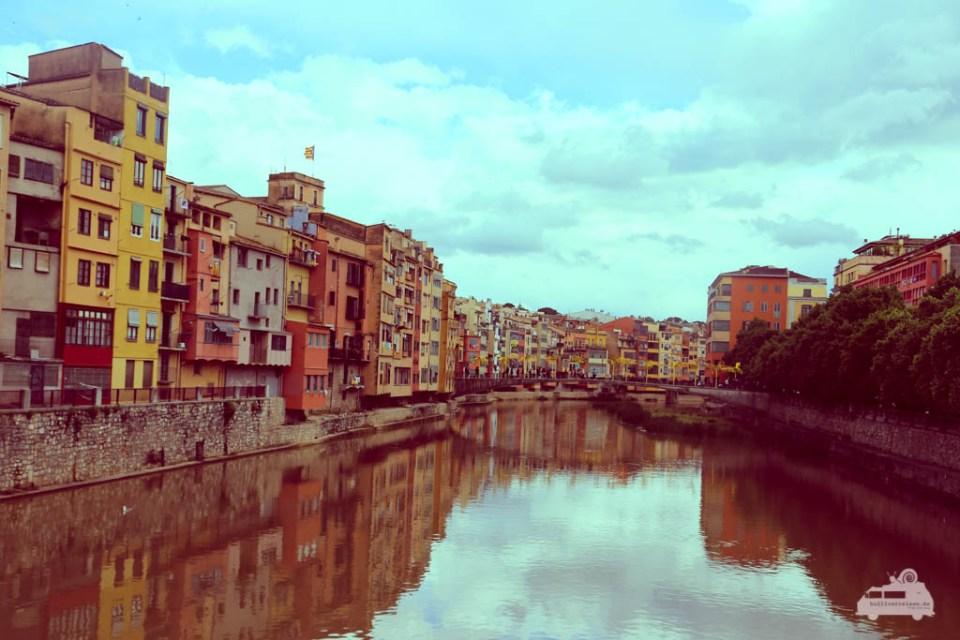 Girona ist eine Stadt in Katalonien