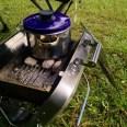 Kartoffeln kochen auf Campingreise