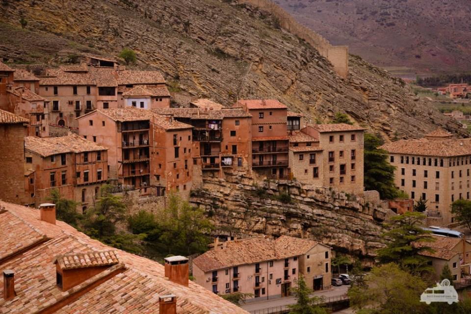 Albarracin mittelalterliche Stadt