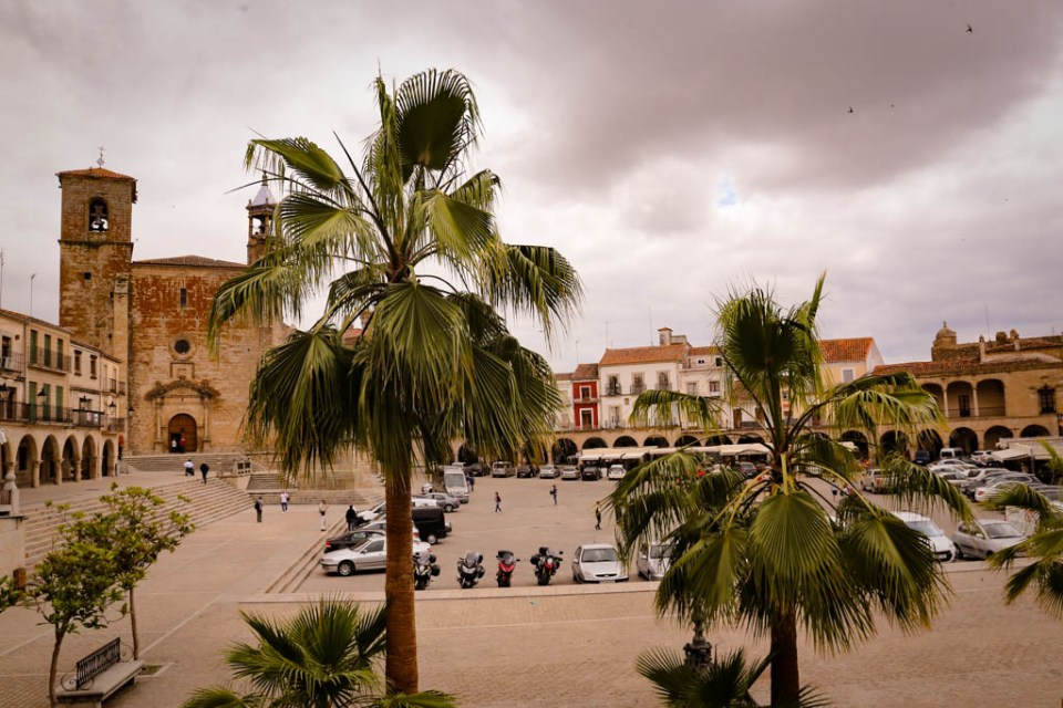 Der Plaza Mayor in Trujillo
