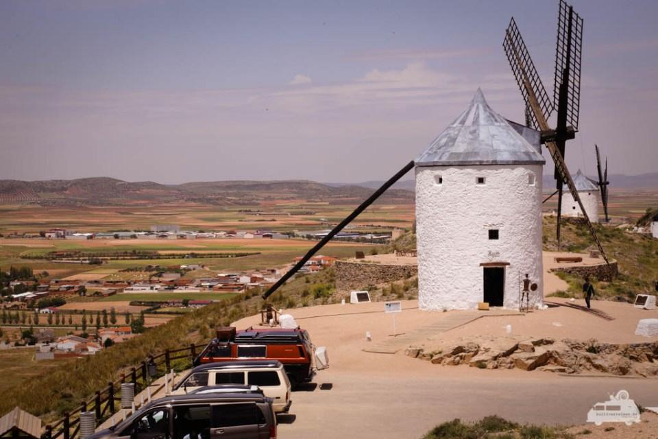Die Riesen von Don Quijote