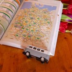 Im ACSI Campingführer Europa habt ihr jeweils eine Übersichtskarte der einzelnen Länder