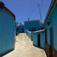 Alles blau im Schlumpfdorf