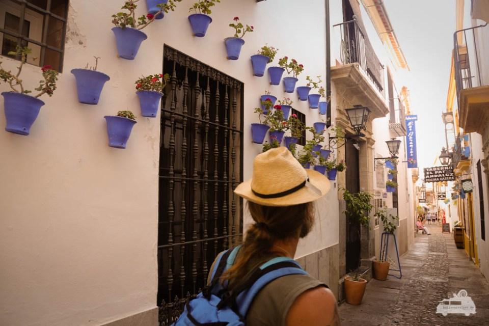 geschmückte Gassen in Cordoba