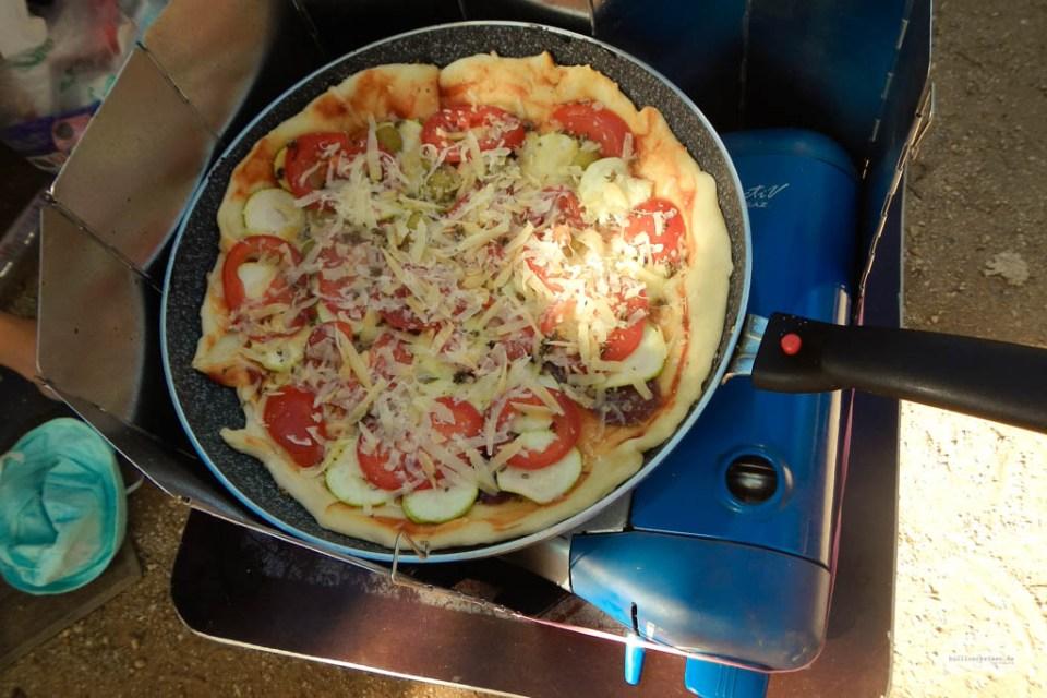 Pizza am Bulli