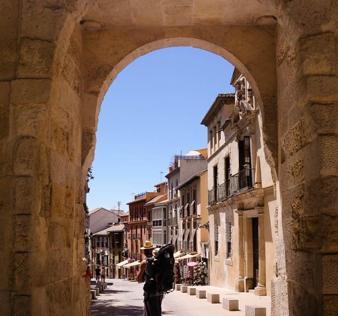 Zurück in die Stadt nach Granada