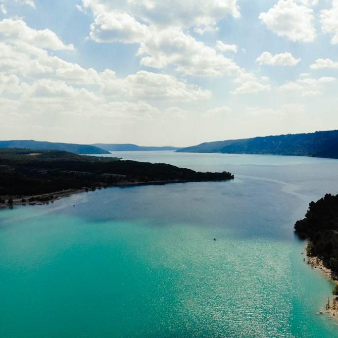 Lac de Saint Croix Frankreich