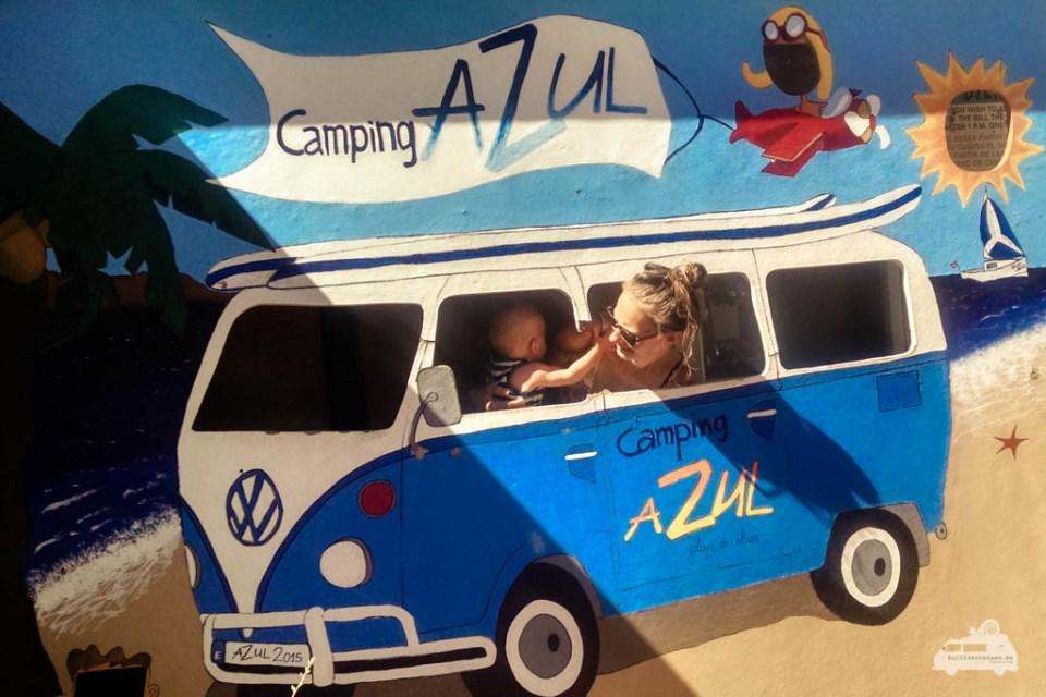 Campingplatz Azul in Spanien