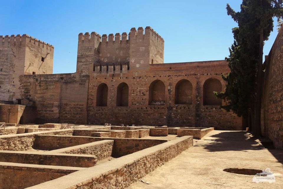 Alhambra Andalusien Alcazaba