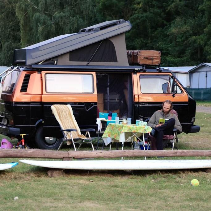 Campingurlaub an der Müritz