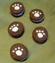 Home made dog cookies