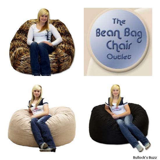 The Bean Bag Chair Outlet Large Royal Sack  Bullocks Buzz